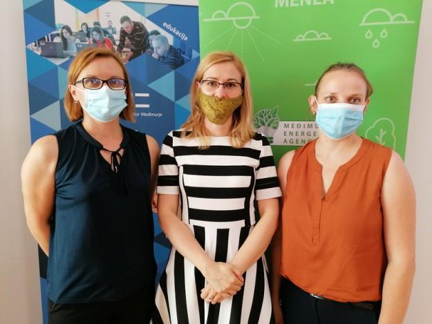 Maja Bratko, Veronika Kárpáti i Danijela Vrtarić