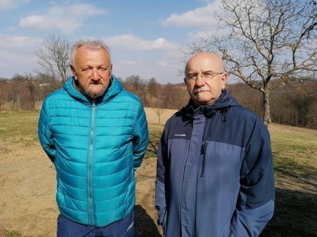 Malomihaljevčani Slavko Kamenar i Damir Novak
