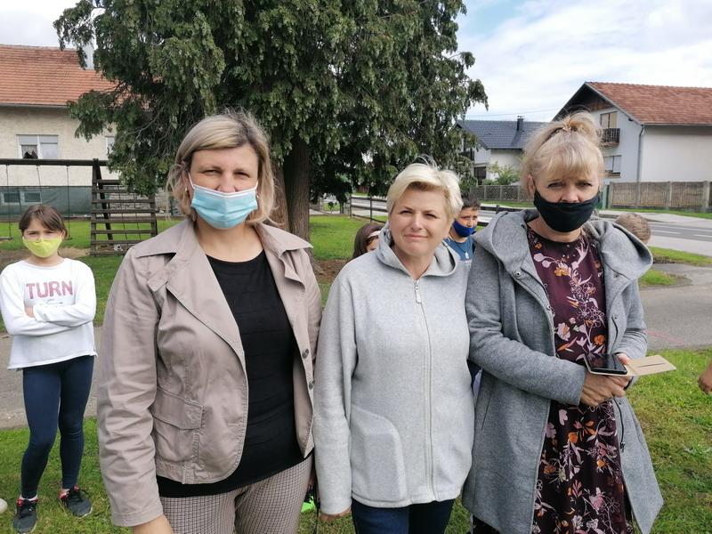 Ljiljana Jakšić, Ivanka Andrišek i  Sanja Vaser