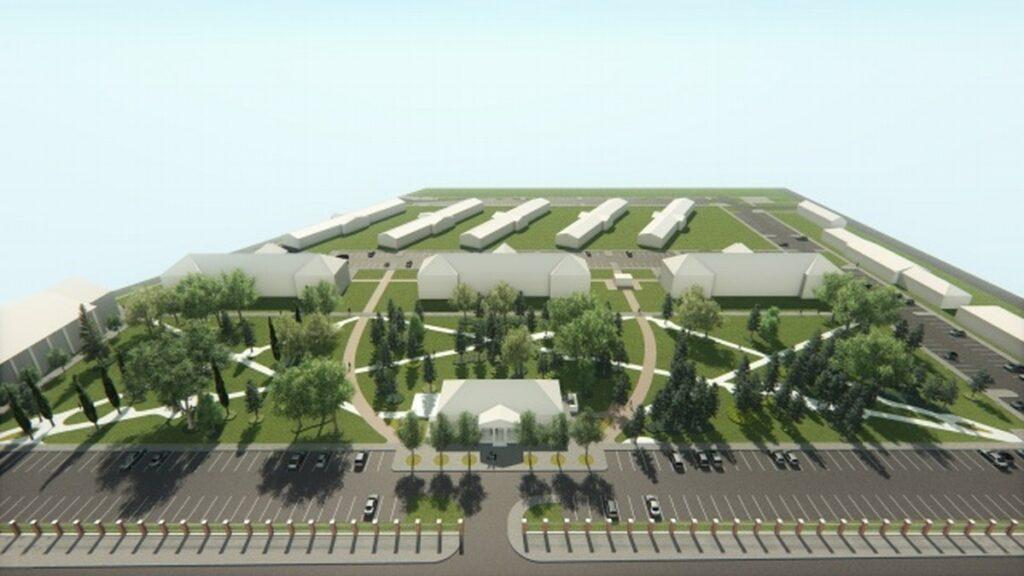 Vizualizacija budućeg parka u Centru znanja
